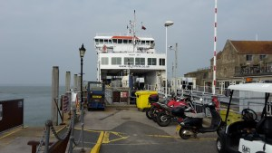 Wightlink ferry at Yarmouth
