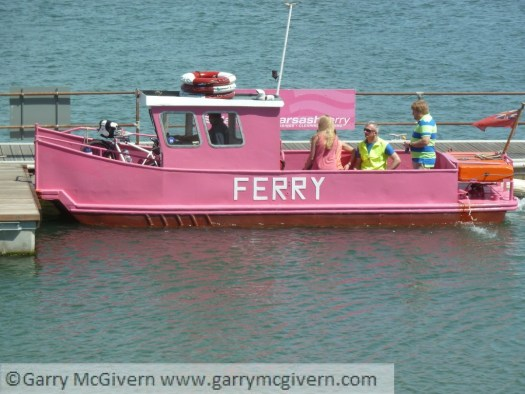 Pink ferry