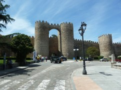 Walled city of Avila
