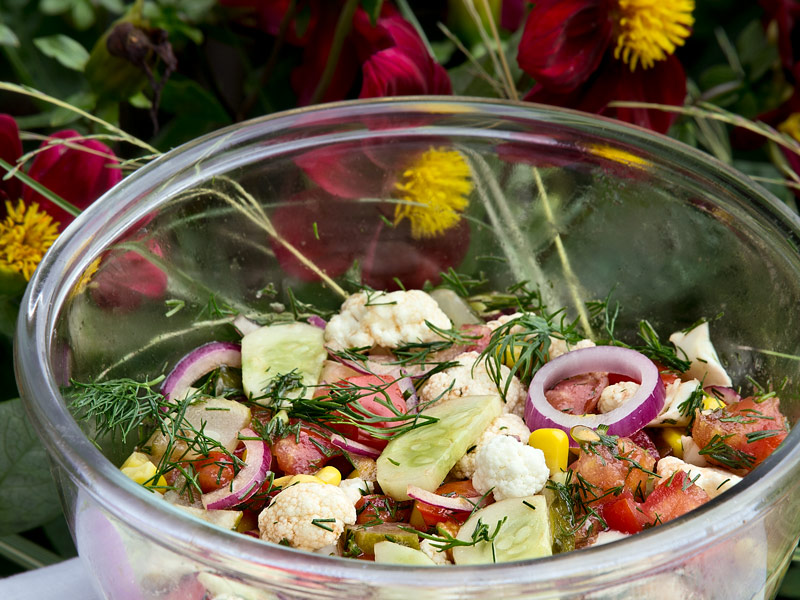 Lielie vasaras salāti