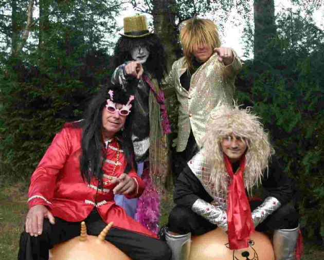 The Glam Guys Superb 70s Glam Rock Themed Band