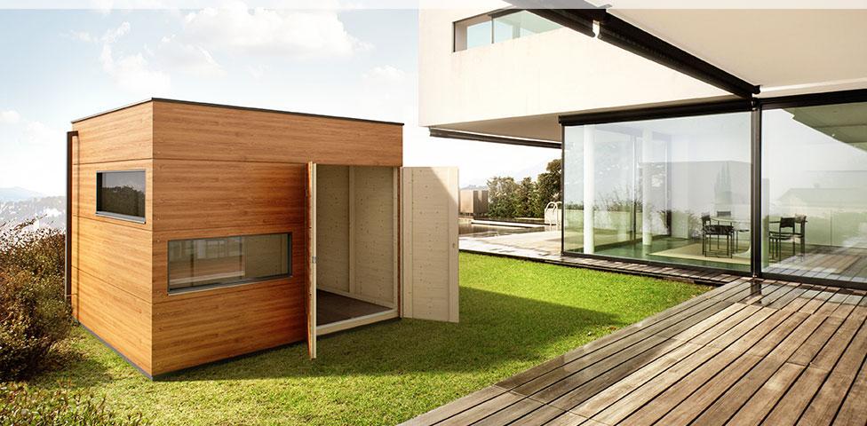 Design Gartenhaus Holz Gartenhaus GARTANA