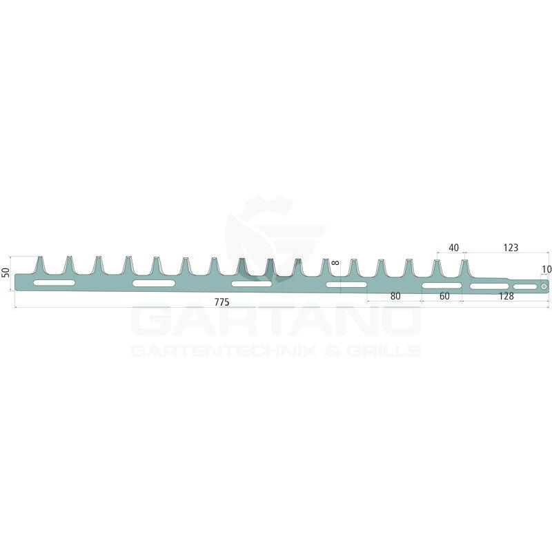 Heckenscherenmesser GRANIT, für Stihl HS 72, HS 74,