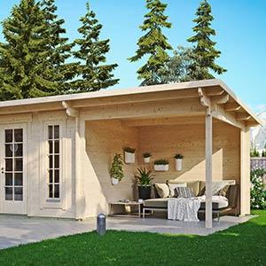 Wie ein Gartenhaus den Garten im Sommer aufwertet