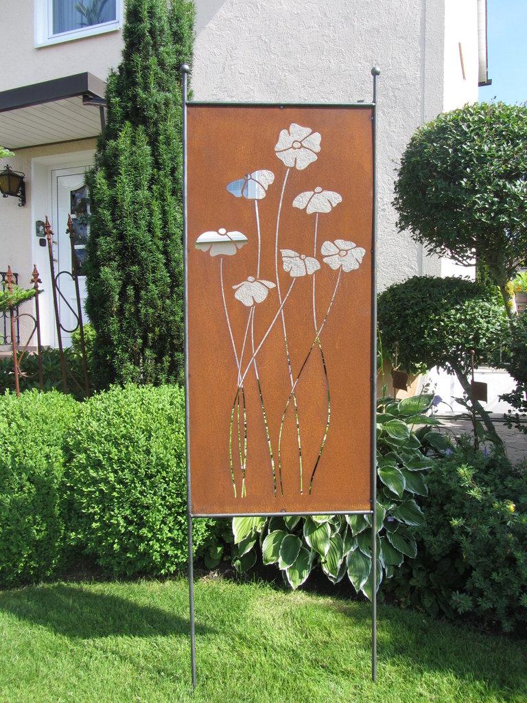 sichtschutz rost dekor 2015 » terrasse en bois, Garten und erstellen