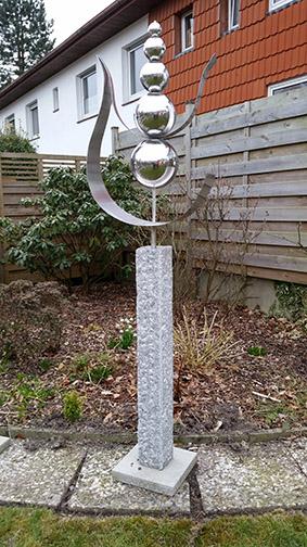 Skulpturen Garten Modern skulpturen und objekte im garten