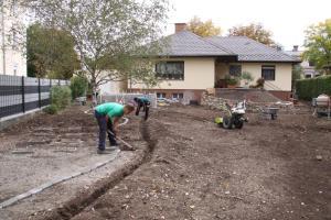 Installation Bewässerungsanlage