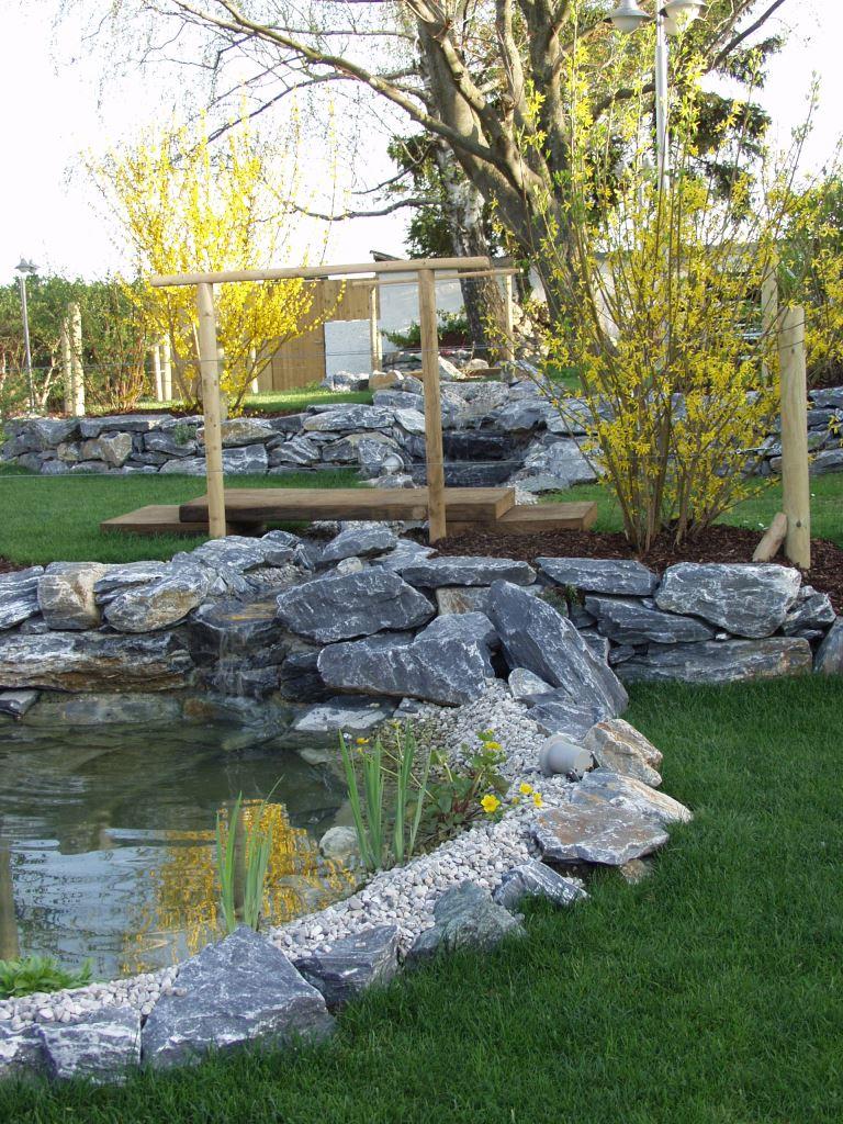 Natursteinmauer Pfaffstätten
