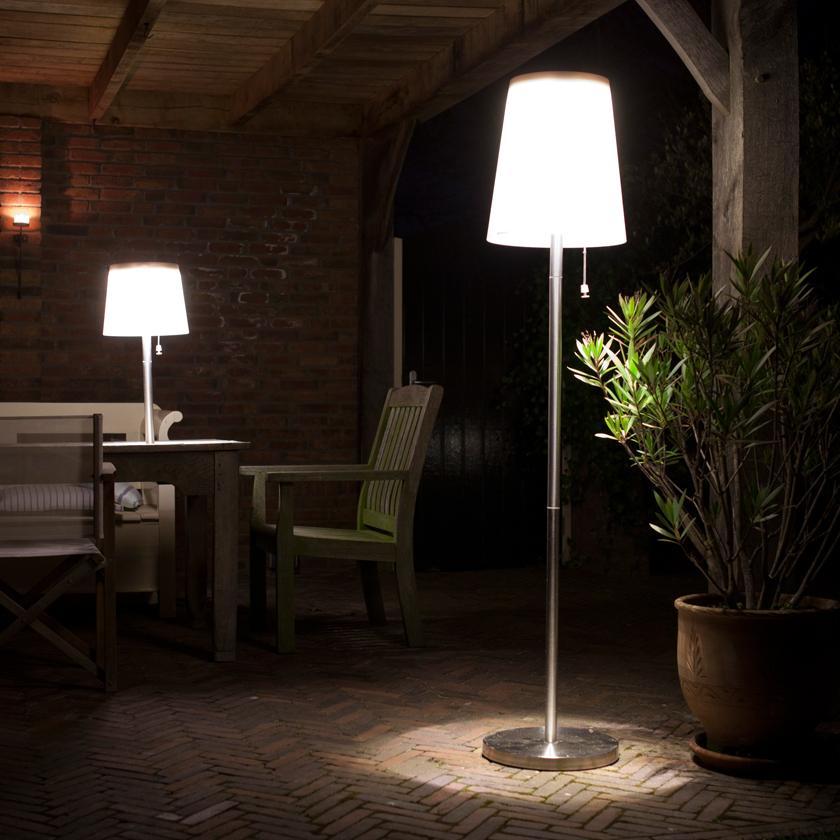 Gacoli  Roots No5 Solar LED Stehleuchte  Garten  Wohnen