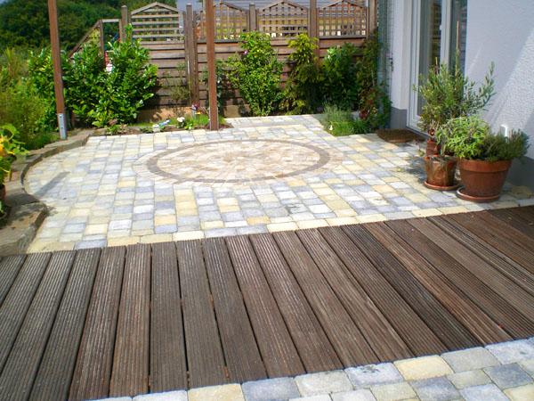 terrasse holz und stein kombinieren | moregs,