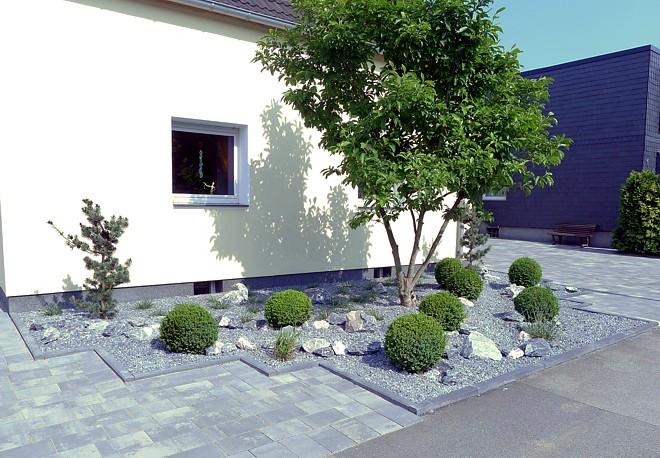 Pflegeleichter Vorgarten Mit Grasern