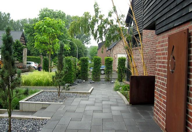 Gartenentwurf  Gartenplan  die Basis eines schnen Gartens