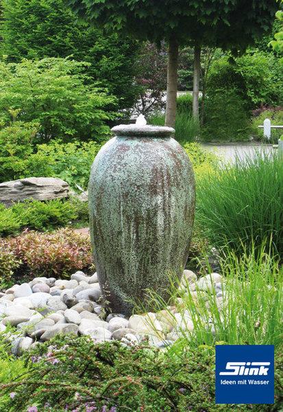 Gartenbrunnen Antico  Krugbrunnen in antiker Optik aus