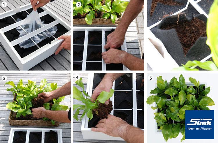 balkon sichtschutz mit vertikalem garten guenstig effektiv, Gartengerate ideen