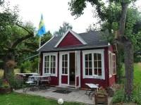 Schwedenrot: Das Lieblingsrot fr das Gartenhaus
