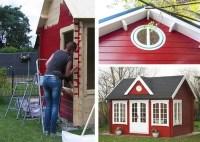 Gartenhaus streichen: Schutz & Pflege durch Farbbehandlung