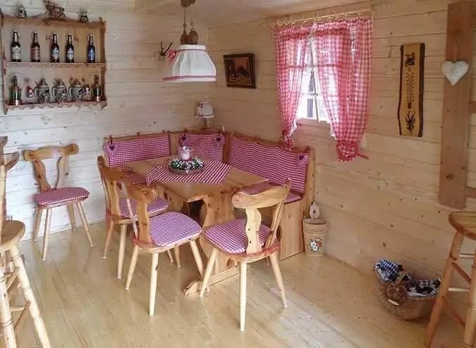 Gartenhaus Lappland wird Bayernhtterl  die AufbauStory