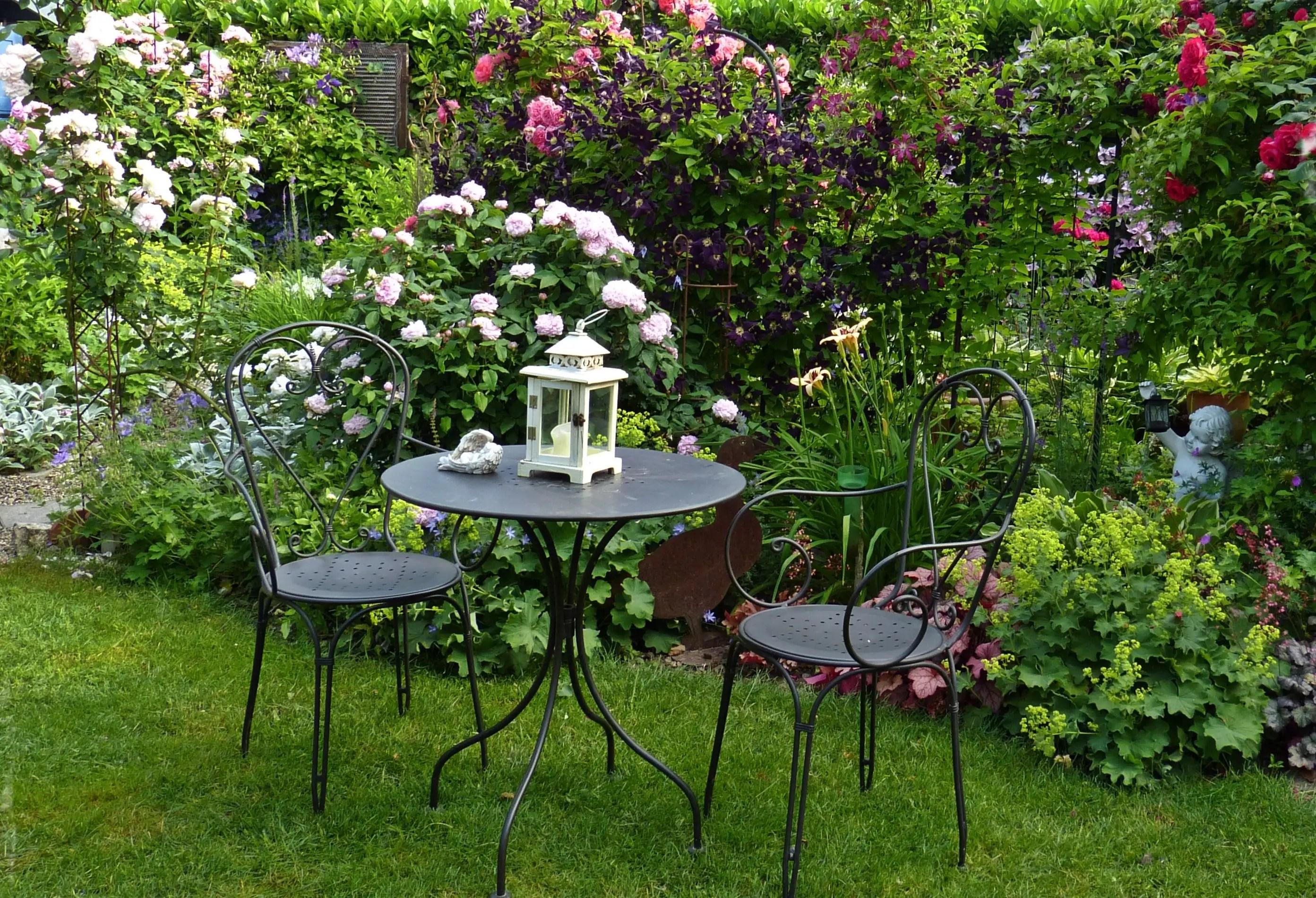 Kleiner Garten Unzhlige Gestaltungsmglichkeiten