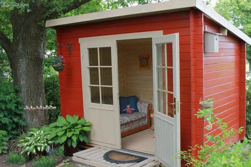 S Magazin Kleines Gartenhaus Einrichten