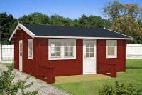 Garten gestalten mit der Farbe Rot: Von Beet zu Gartenhaus
