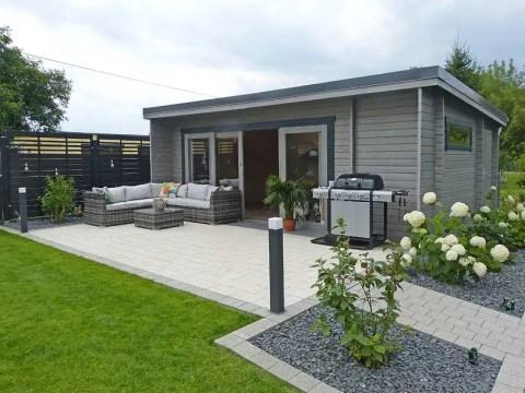 moderne gärten gestalten gartenhaus design ideen: den garten richtig stilvoll gestalten