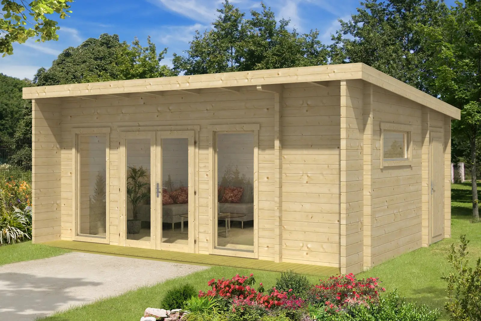 Gartenhaus Modell Carla 70 Iso Gartenhaus Modell Carla 70