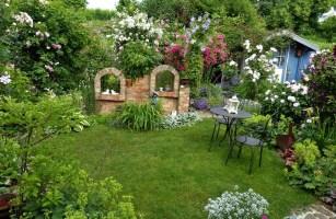 Kleiner Garten Unzählige Gestaltungsmöglichkeiten