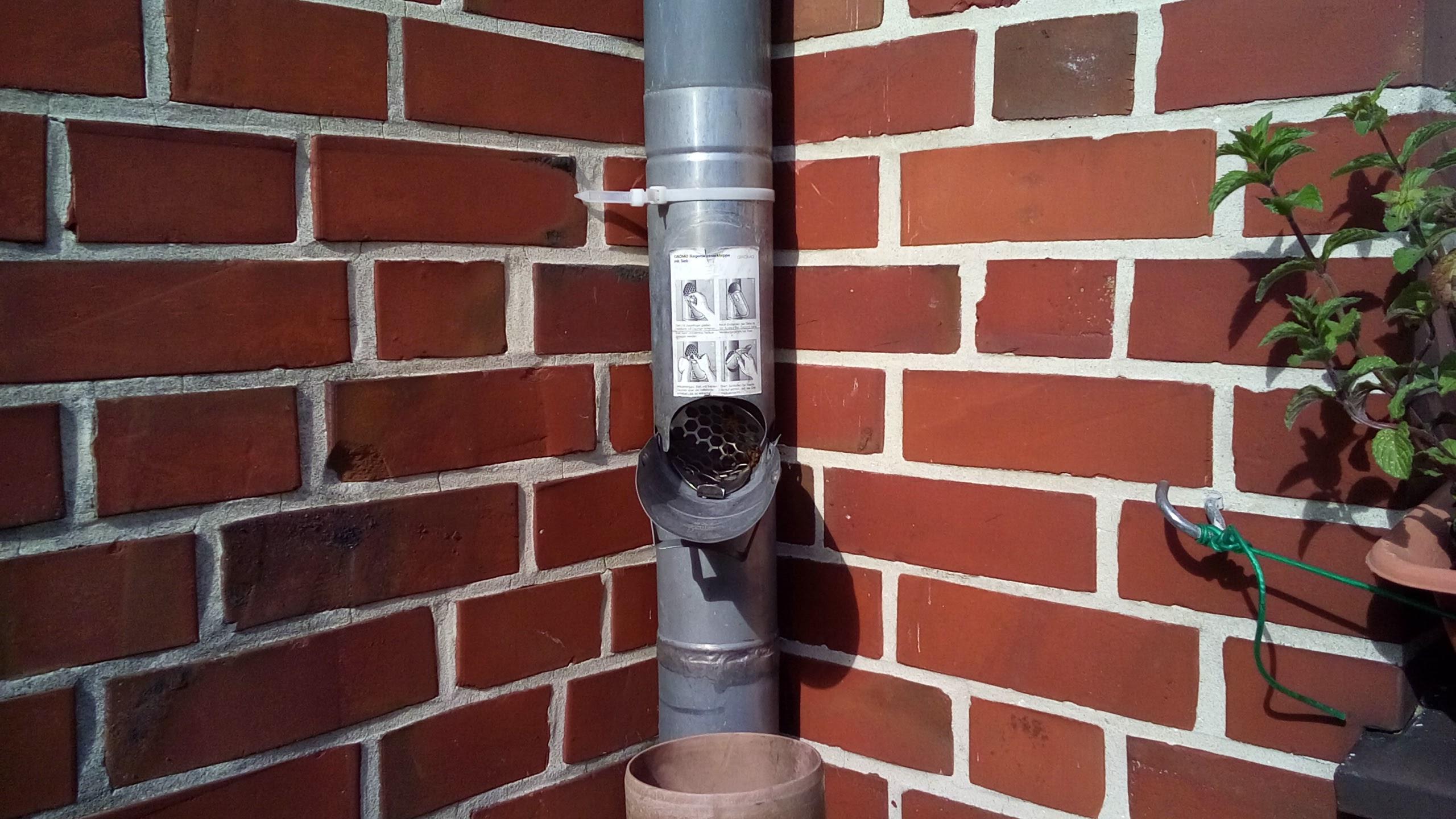 Regenwasser Sammeln » So Installieren Sie Den Regenwasserbehälter