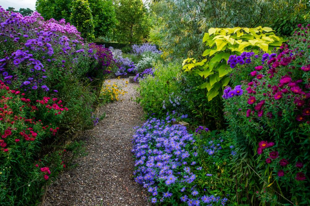 Gartenwege aus Kies  Schne Ideen Tipps und Tricks