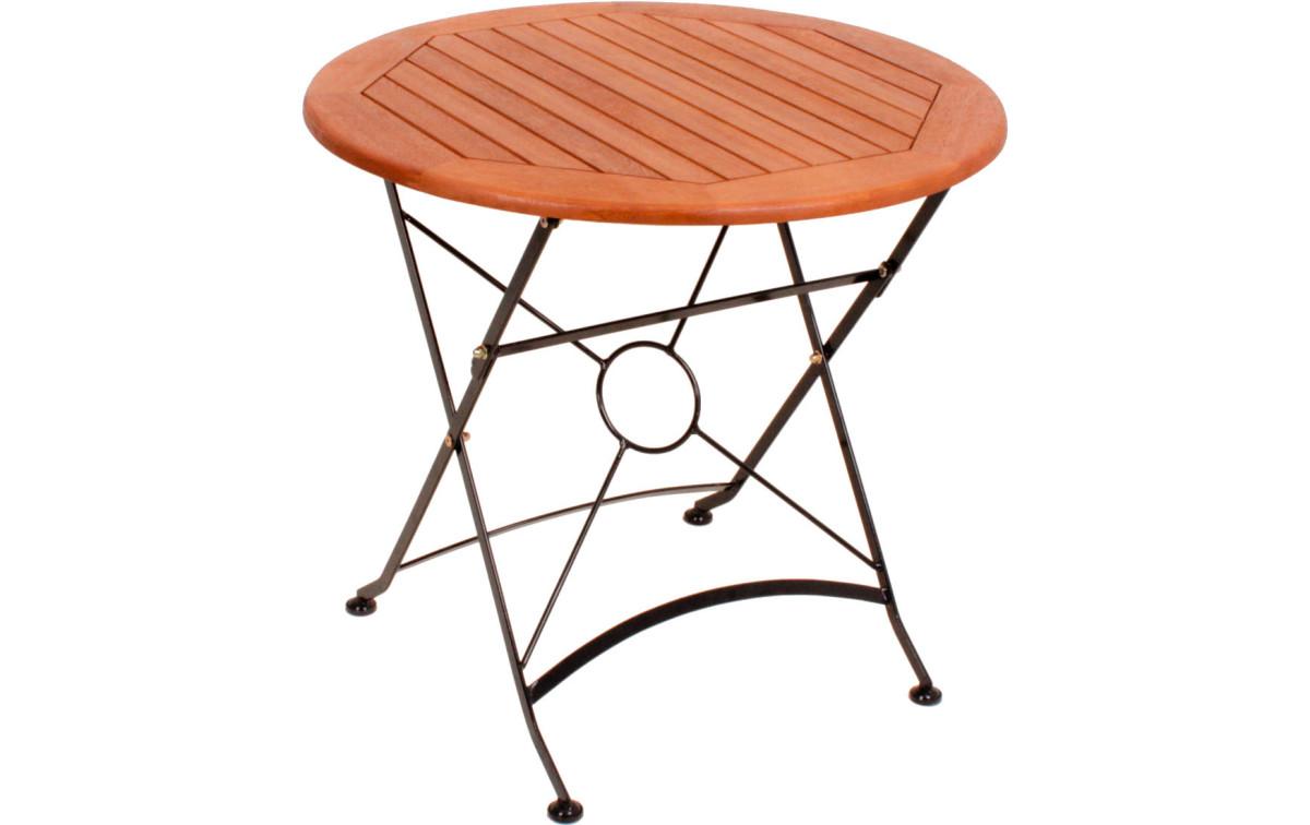 alu gartentisch rund » terrassenholz, Moderne
