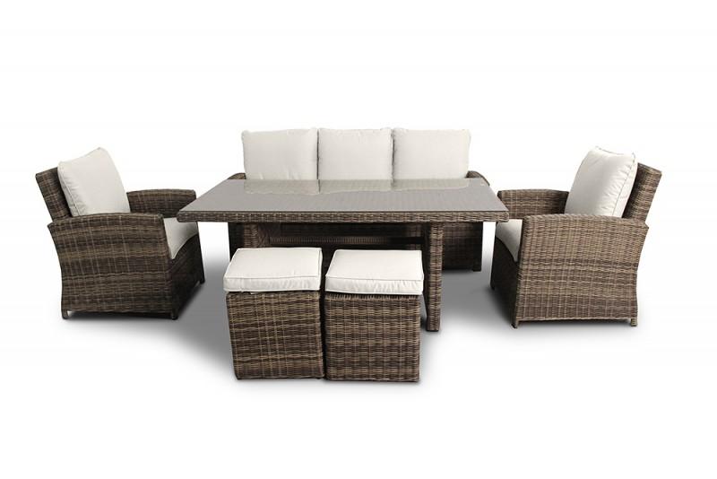 switzerland poly rattan aluminium sofa sitzgruppe gartenmobel, Garten und erstellen