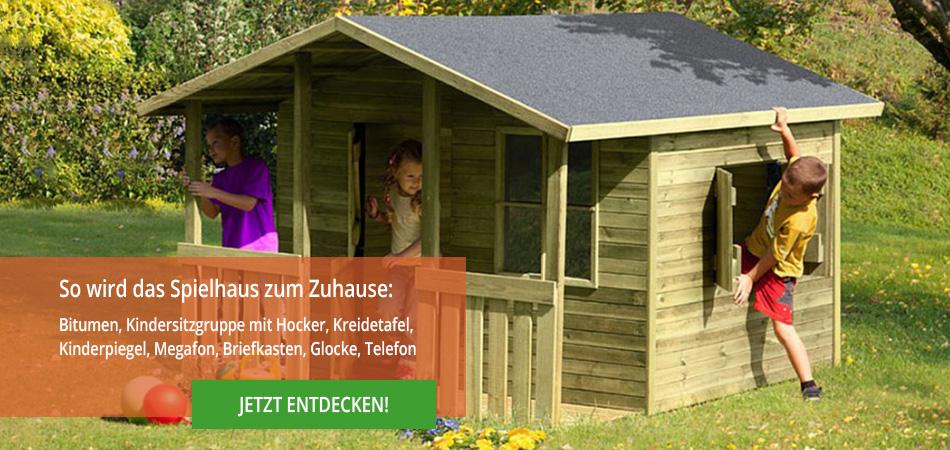 Kinder Spielhäuser Aus Holz Für Den Garten Gartenpirat De