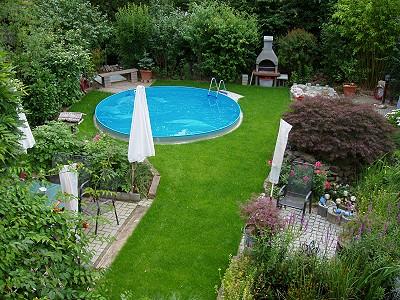 Superior Pool Anlegen Garten » Terrassenholz, Garten Ideen Amazing Pictures