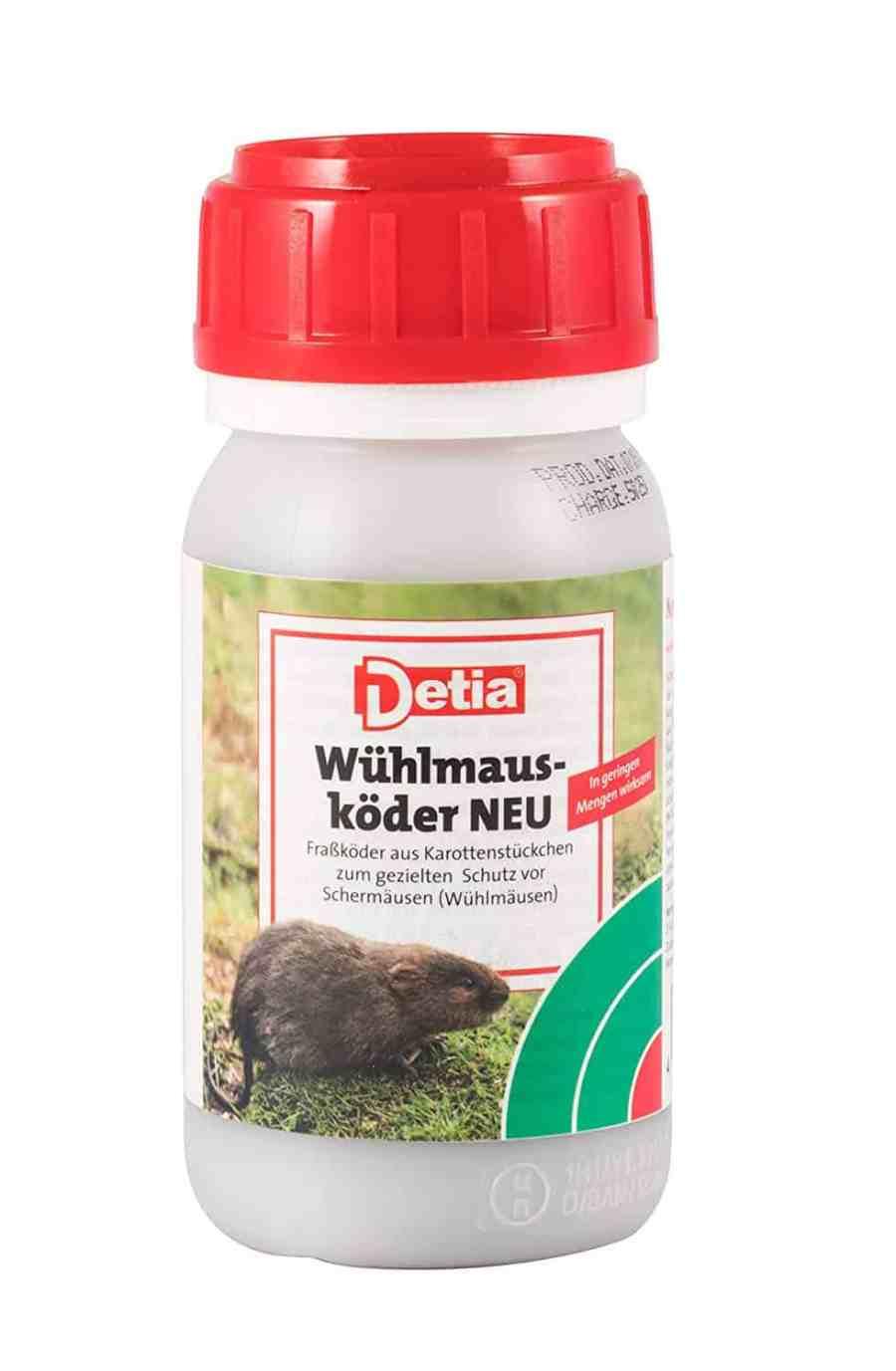 Detia Wühlmausköder Zinkphosphid. 90 g