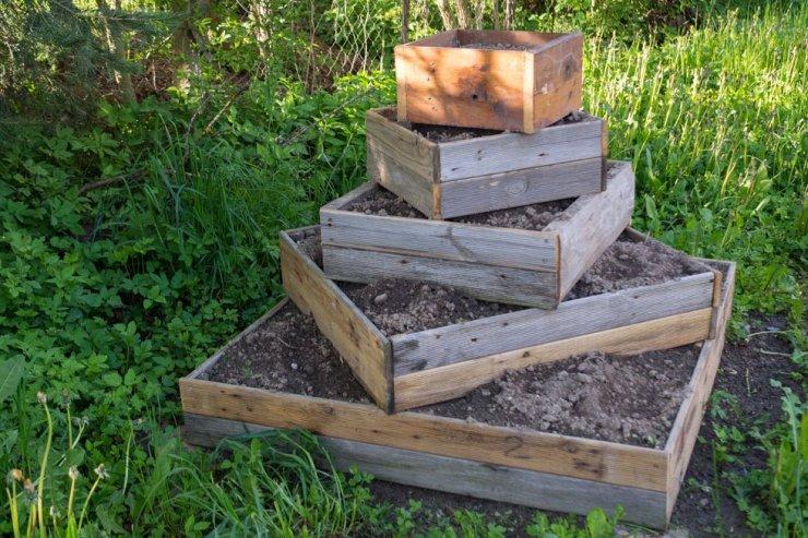 Garten Kommode Holz 2021
