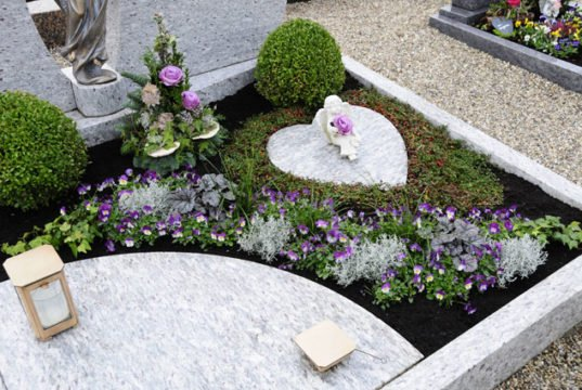 Grabgestaltung auf Gartentippscom