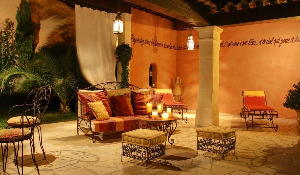 Terrasse orientalisch gestalten  6 Ideen fr eine