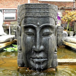 Brunnen mit solarpumpe betreiben - Gartenbrunnen buddha ...
