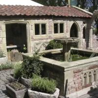 Antik Steinguss Garten Ruine - Kenton Farm  Gartentraum.de