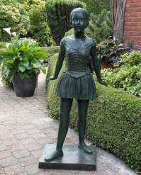 Edle Garten Bronze Figur mit Mdchen - Zelia  Gartentraum.de