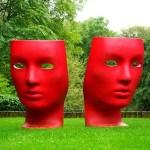 Moderne Gartenskulpturen Aus Edelstahl Bronze Sandstein 25 Ideen