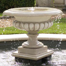 Gartenbrunnen aus Steinguss - Apsley Manor