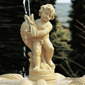 Gartenbrunnen aus Steinguss - Ampthill Park