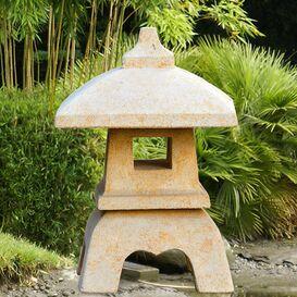 Japanische Laterne aus Steinguss - Haruto