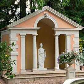 Pavillon Gartepavillon aus Stein - Commodus