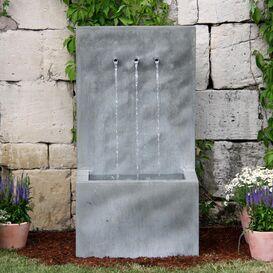 Gartenbrunnen aus Zink - Tre Brillare