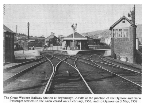 The First Stationmaster of  Brynmenyn Station and the Coleman Family (6/6)