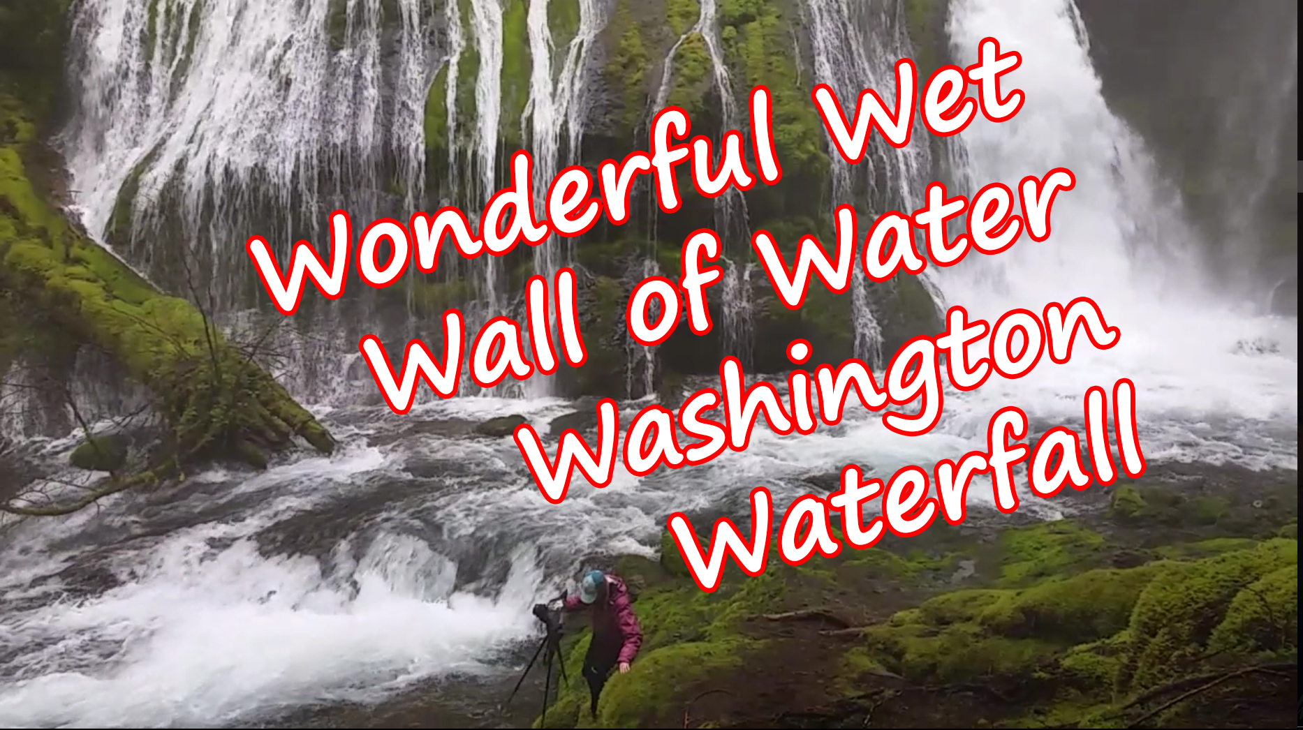 Panther Creek Falls Washington Video