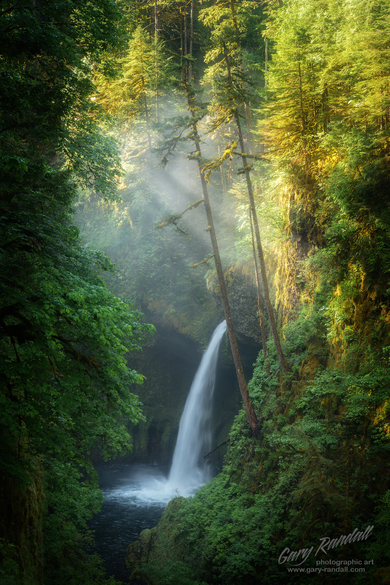 Metlako Falls Eagle Creek Columbia River Gorge