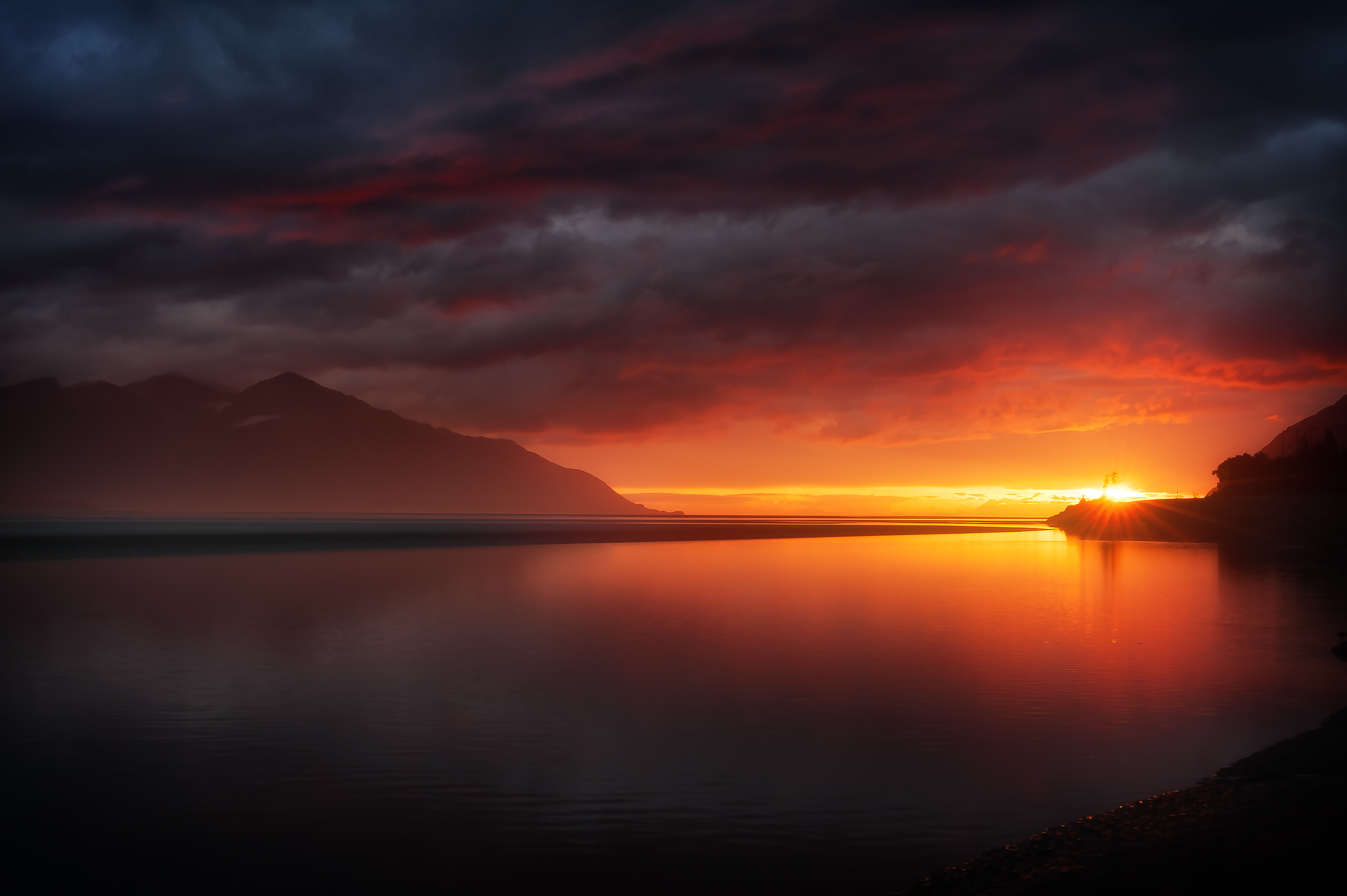 Turnagain Arm Sunset